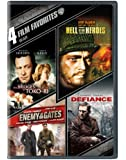 4 Film Favorites: War (The Bridges At Toko-Ri, Hell is for Hero's, Enemy At The Gates, Defiance)