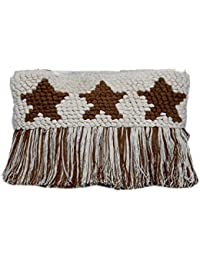 Diwaah Beautifully Handcrafted Casual Cotton Multi Color Rug Zip Top With Zip (DWH000000843)