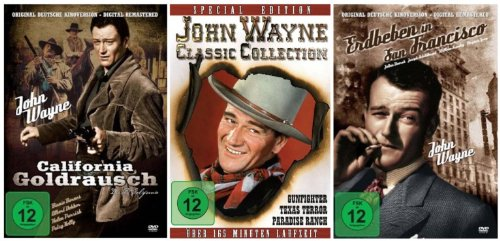 John Wayne Movie Edition ( 6 Filme) [3 DVDs]