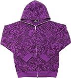 Size【XL】A BATHING APE(エイプ) 09AWクッキーカモ柄ジップパーカー 紫【紫】【新品】