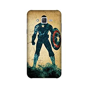 StyleO Samsung Galaxy J5 2015 Edition Designer Printed Case & Covers (Samsung Galaxy J5 2015 Edition Back Cover) - Superhero Captain America