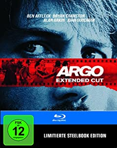 Argo - Extended Cut Steelbook [Blu-ray] [Limited Edition]
