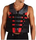 ONeill Mens Superlite USCG Life Vest, Black/Red Night - MD