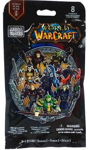 World of Warcraft Mega Bloks #91100 Series 1 Mystery Pack [1 Random Figure]