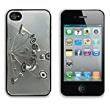 Variety Silver Metallic Speaker Design Apple iPhone 4 / 4S Snap Cover Premium Aluminium Design Back Plate Case Customized Made to Order Support Ready 4 7/16 inch (112mm) x 2 3/8 inch (60mm) x 7/16 inch (11mm) Luxlady iPhone_4 4S Professional Metal Cases Touch Accessories Graphic Covers Designed Model HD Template Wallpaper Photo Jacket Wifi 16gb 32gb 64gb Luxury Protector Wireless Cellphone Cell Phone