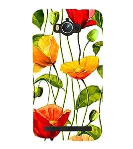 Flower Wallpaper 3D Hard Polycarbonate Designer Back Case Cover for Asus Zenfone Max ZC550KL :: Asus Zenfone Max ZC550KL 2016 :: Asus Zenfone Max ZC550KL 6A076IN