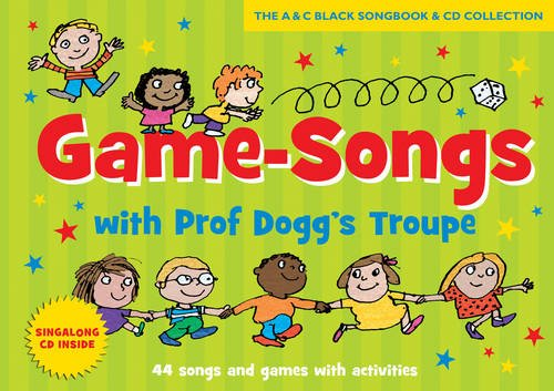 Songbooks - Game-songs with Prof Dogg's Troupe (Book + CD) new cover: 44 Songs and games with activities