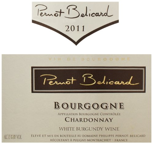 2011 Pernot Belicard Bourgogne Blanc 750 Ml
