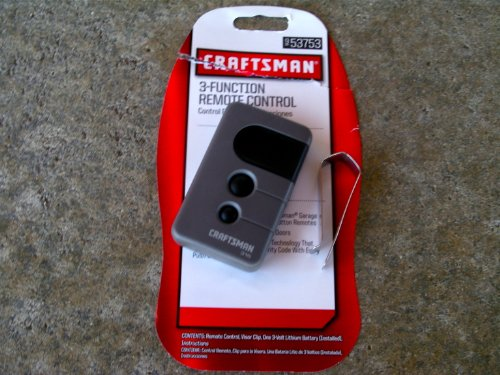 Images for Sears Craftsman 3-Functional Remote Control