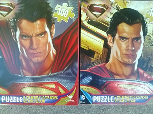Superman Man of Steel 100 Piece Jigsaw Puzzle (Assorted, Quantities & Styles Vary) by DC Comics