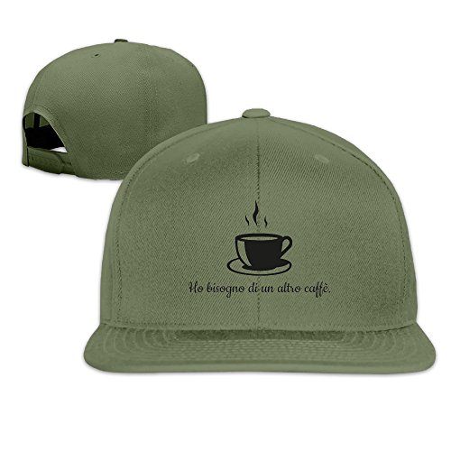 Ho Bisogno Di Un Altro Caffè Casual Summer Hats Soccer Team Visor Hats (Illy Expresso Whole Bean Coffee compare prices)