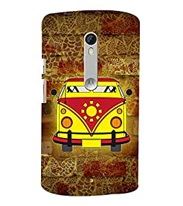 City Cab Vintage 3D Hard Polycarbonate Designer Back Case Cover for Motorola Moto G3 :: Motorola Moto G (3rd Gen)