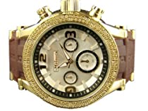 New Mens Jojino By Joe Rodeo IJ1077 .25 Ct Diamond 43 mm Watch