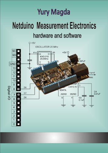 Netduino Measurement Electronics: hardware and software