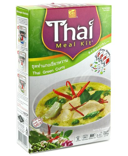 Thai Green Curry Kit Easy Cooking Just Add Meat Ready To Serve In 7 Minute Microwave Cook