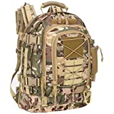 WolfWarriorX Military Tactical Assault Backpack 3-Day Expandable Backpack Waterproof Molle Rucksack For The Outdoors, Camping, Hiking & Trekking (OCP)