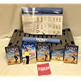 Firm-Wave-Deluxe-Kit-6-Workout-DVDs-Resistance-Band-Success-Guide-Accessory-Mat