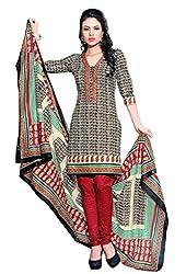 HIFI Ethnicwear Women's Dress Material BLACK_Free Size
