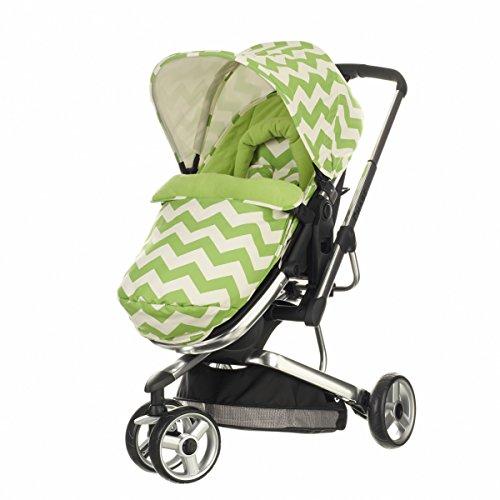 Obaby Chase 3 Wheeler ZigZag Stroller (Lime)