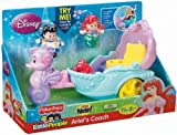 Fisher-Price Little People Disney Princess: Ariel's Coach Children, Kids, Game