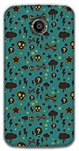 The Racoon Lean printed designer hard back mobile phone case cover for Moto X 2nd Gen. (Curiosity)