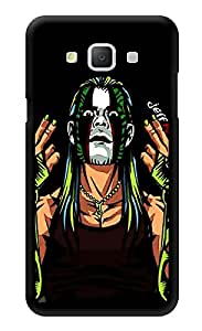 """Humor Gang Wrestler Cartoon Printed Designer Mobile Back Cover For """"Samsung Galaxy A5"""" (3D, Glossy, Premium Quality Snap On Case)"""