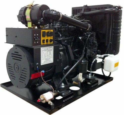 Power Tech Pt-8000, 8,000 Watt Diesel Generator Open Power Unit