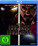 Iron Man/Iron Man 2-Collector's Edit (Blu-Ray) [Import allemand]
