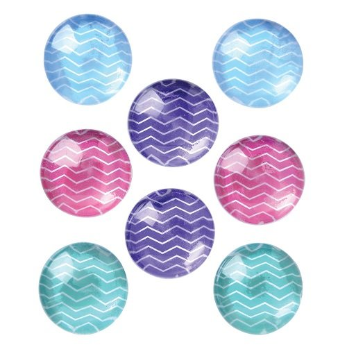 Quartet Magnets, 1-Inch, Multicolor, 8 Magnets