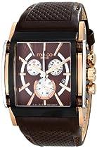 MULCO Unisex MW1-29785-135 Analog Display Swiss Quartz Brown Watch