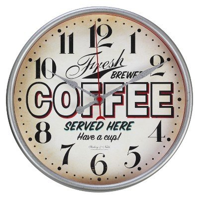 Threshold Vintage Diner Wall Clock
