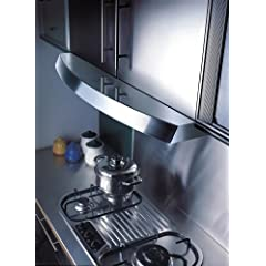 Kobe Seamless RA2830SB Stainless Steel Under Cabinet Range Hood with 760 CFM Internal Blower - 30 Inch