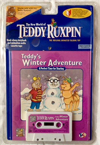 The New World of Teddy Ruxpin Teddy's Winter Adventure Book and Cassette (Teddy Ruxpin Grubby)