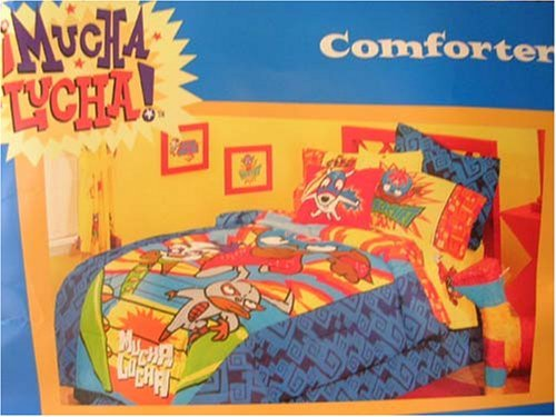 Cartoon Network Mucha Lucha twin bedding - comforter and sheet set ...