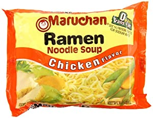 Maruchan Ramen Noodle Soup, Chicken Flavor, 3 oz, 36 Packs