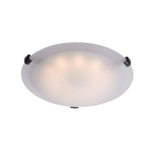 Kenroy Home 90674ORB Aero LED Flushmount Light Fixture, Oil Rubbed Bronze Finish by Kenroy Home