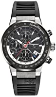 Salvatore Ferragamo Men's F55LCA78910 S113 F-80 Swiss Automatic Chronograph Black Dial Ceramic Bezel Watch from Salvatore Ferragamo