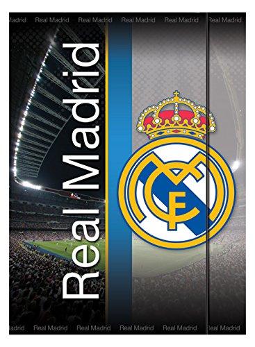 Real Madrid - Carpeta Fº con solapas y gomas (Mercury 25RM950/16095)