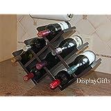 TopStage© Decorative Wine Rack, Butterfly, 8-bottle