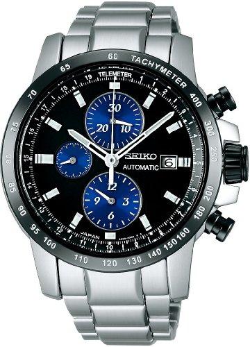 SEIKO (セイコー) 腕時計 BRIGHTZ PHOENIX ブライツ フェニックス メカニカル クロノグラフ 数量限定モデル SAGH015 メンズ クロコダイル替えバンドつき