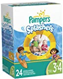 Pampers Splashers Swim Pants Diapers Size 3-4 24ct.