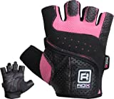 Authentic RDX Leather Ladies Pro Gloves Fitness Womens Gym Wear Exercise Workout Training, Small, Medium, Large, XLarge