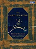 The Last Lecture Audio Cassette