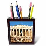 3dRose ph_81844_1 Parthenon, Ancient Architecture, AcropoLIs, Athens, Greece EU12 PRI0104 Prisma Tile Pen Holder, 5-Inch