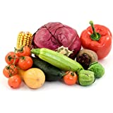 Red Cabbage, Capsicum Red, Squash Green, Brussels Sprouts, Beet Root, Cherry Tomato, Sweet Corn -7 Seeds Pkt Kit...