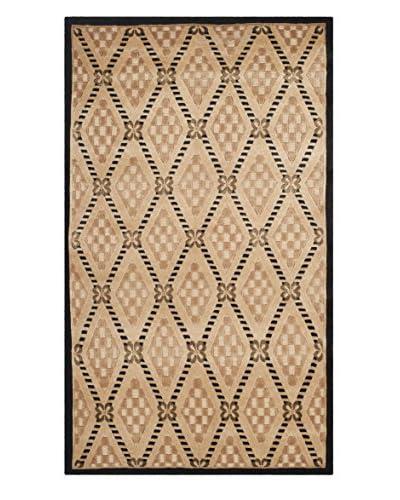 Safavieh Tibetan Rug, Black/Gold, 3' x 5'