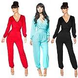 Bestchoice2go(TM) Womens Sexy Deep V Clubwear Party Evening Backless Jumpsuits Dress