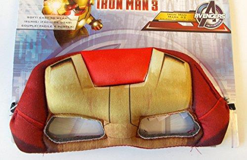 Marvel Avengers Iron Man 3 Mark 42 Soft Eye Mask - 1