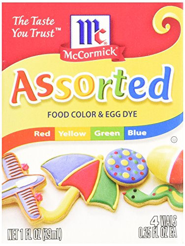 MCCORMICK FOOD AND EGG COLORING DYE 4 Colors Food, Beverages Tobacco ...