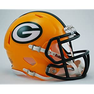 GREEN BAY PACKERS NFL Riddell Revolution SPEED Mini Football Helmet